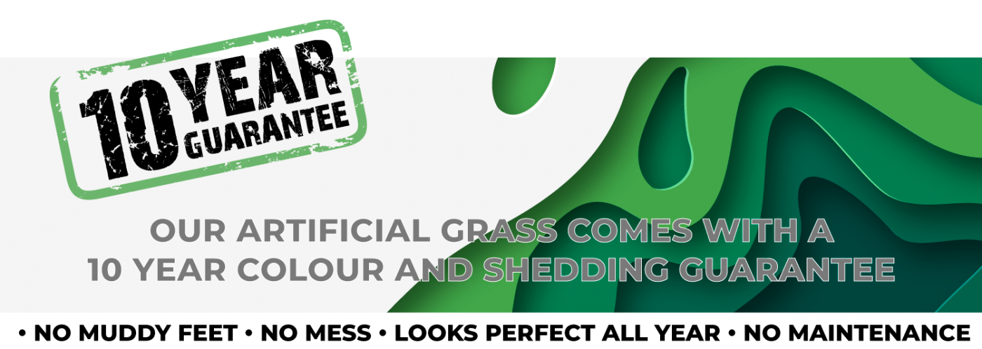 10 Year Guarantee Artificial Grass